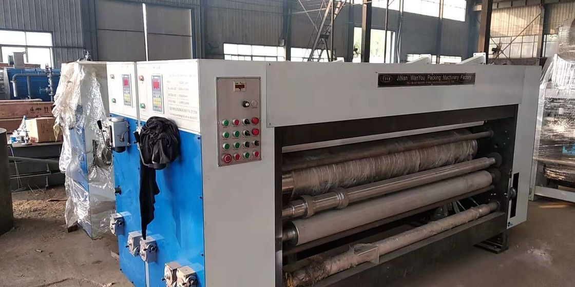 Corrugated Carton Printer Slotter Machine With Customized Color And Speed